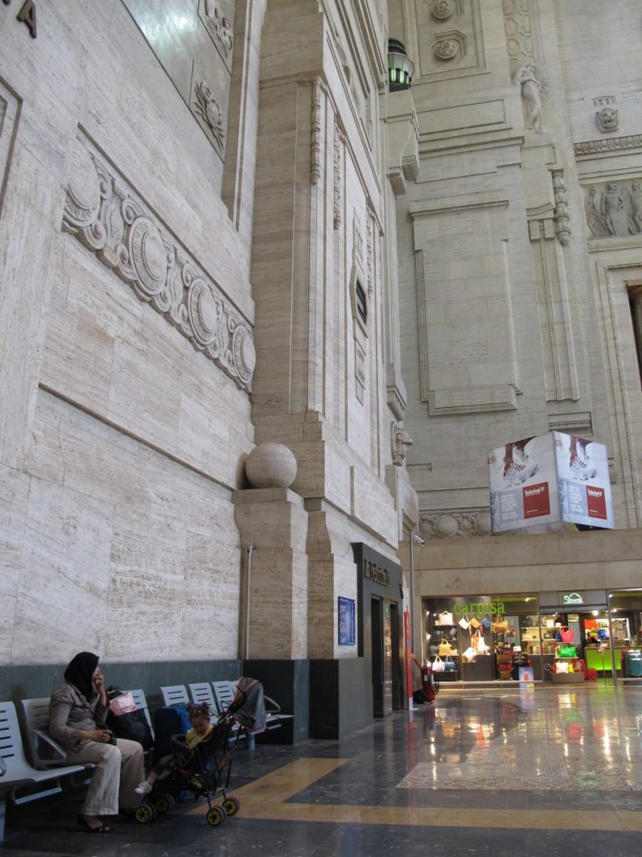 Central Train Station Milan