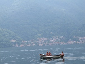 Tinny on Lake Como