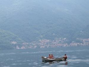 Tinny on Lake Como