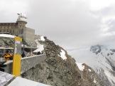 Gornergrat plateauand snow