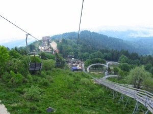 Mottarone chair-lift and toboggan ride