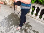Dale after her Dip in Lake Garda