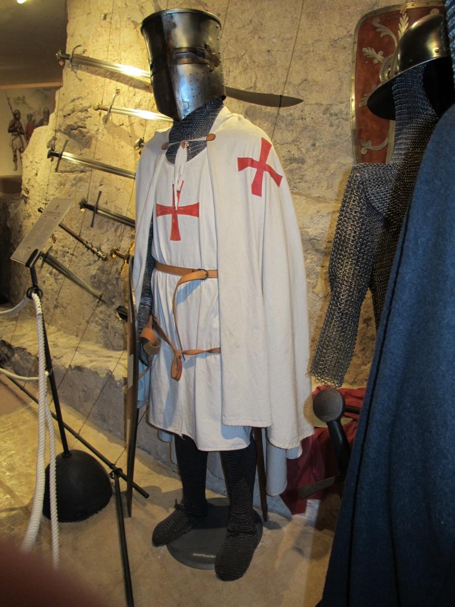 Castelbrando weapons & armour display