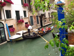 Typical view in Venice