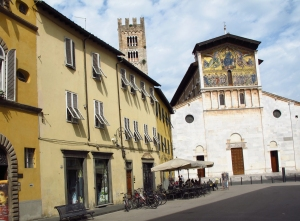 Church in Lucca Italy
