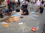 Street artist, Florence