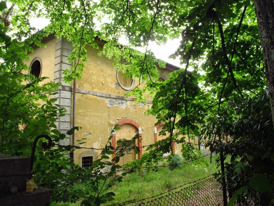 Derelict building in Montecatini