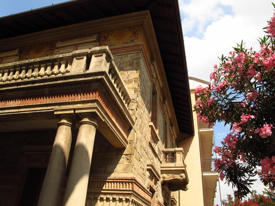 Building detail, Montecatini Italy