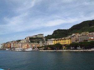 Arriving at Porto Venere Italy