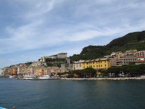Arriving at Porto Venere Italy