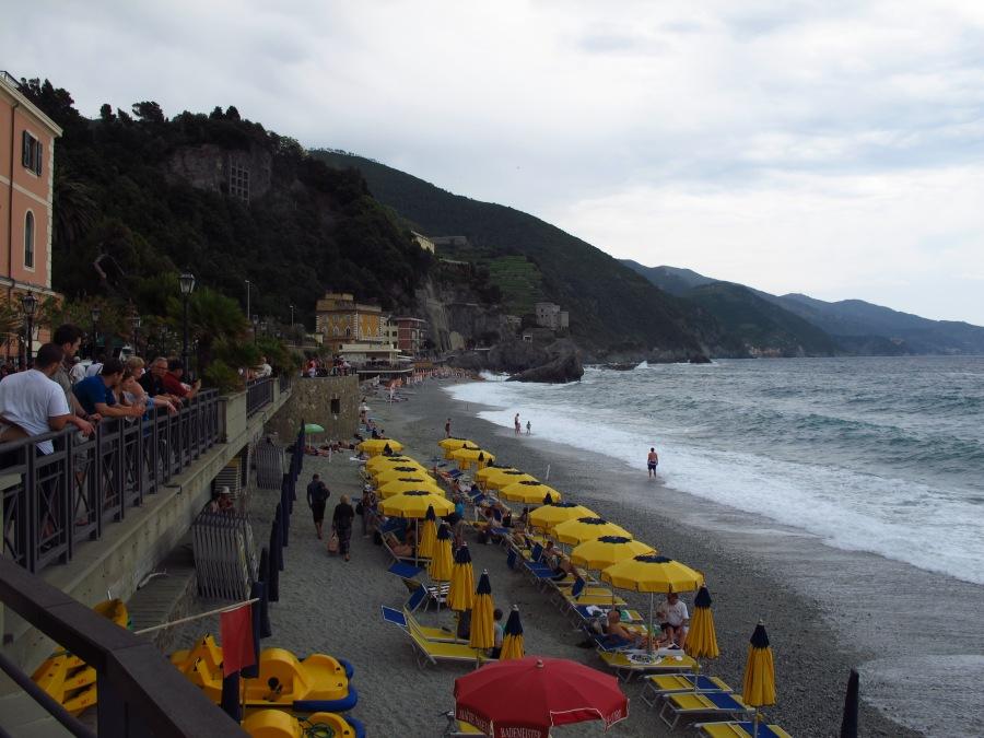 Grey day at Monterosso, Cinque Terre