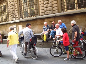 Daily life, Lucca Italy