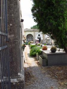 Cemetery below Montecatini Alto Tuscany