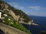 Along the Amalfi Coast road