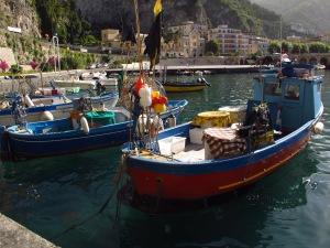 Maiori port, Italy