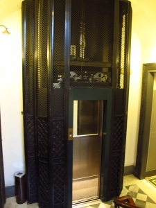 Smallest elevator I've ever seen