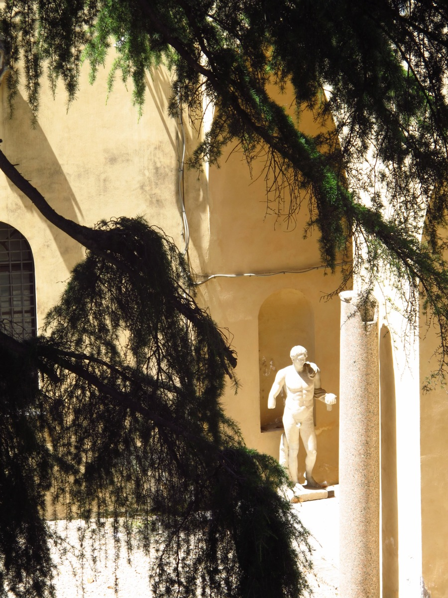Statue in the Gardens, Musei Capitolini