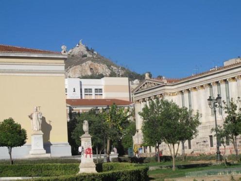 Athens contrasts