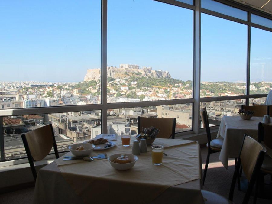 Now that's a view - Acropolis, Athens