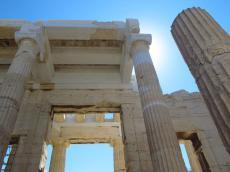 On the Acropolis, Athens