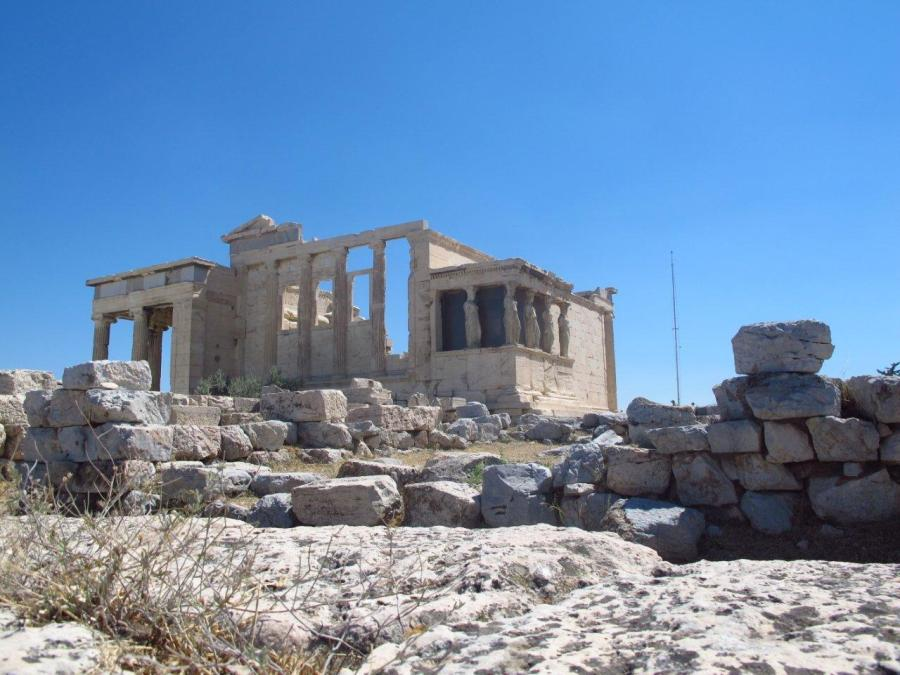 Erechteion Temple, Acropolis, Athens