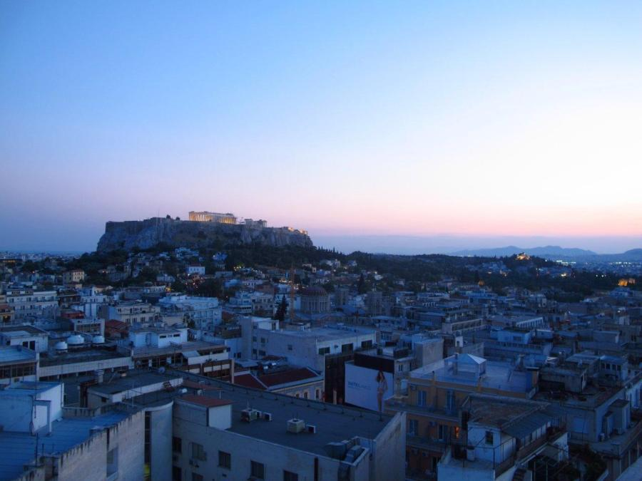 Dusk on the Acropolis Athens