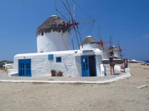 Lovely shop under the windmills - Mykonos