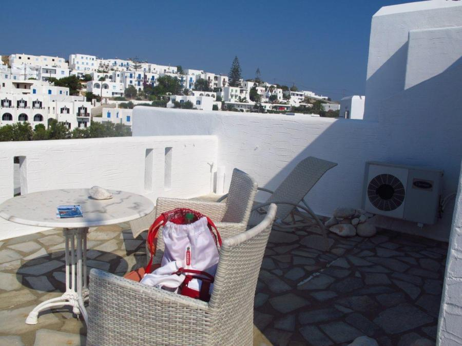From our balcony on Paros