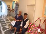 Gorgeous old Greek couple - Paros, Greece