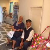 Gorgeous old Greek couple - Paros, Greece