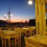 Dusk on Paros, Greece