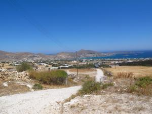 View from old church on the hill, Paros