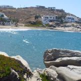 Swimming beach at Naoussa