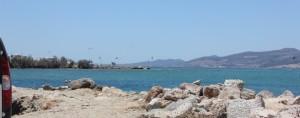 Kite surfing Paros