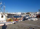 Mending nets, Naoussa, Paros