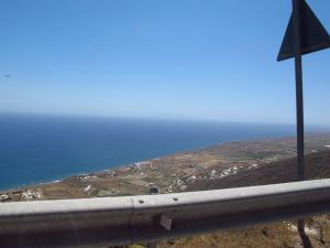 How close is that guardrail!!! Santorini