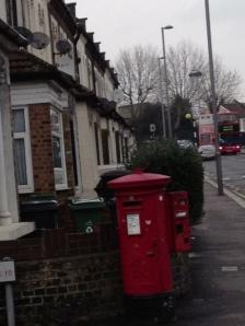 London letter-box