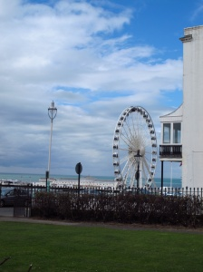 View from Ainsley House, Brighton, England