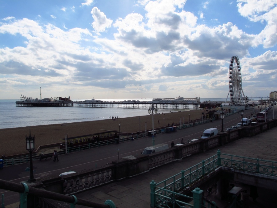 What a view - Brighton Pier and Wheel
