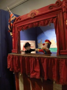 Punch and Judy at the Brighton Museum