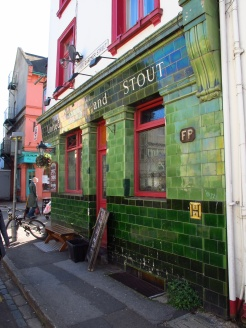 Interesting pub in North Laine, Brighton, England