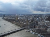 From the London Eye, not the best pic but it's how it was on the day.