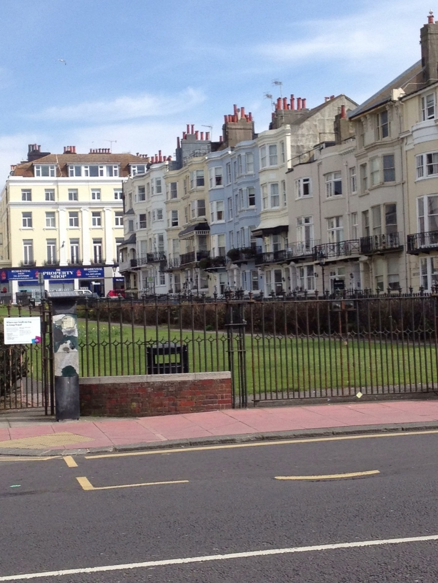 My 'hood while in Brighton