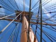 HMS Warrior rigging