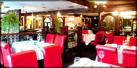 Abbey Hotel restaurant, Donegal