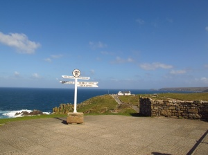 The famous sign at Lands End