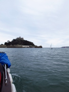 Heading to St. Michaels Mount