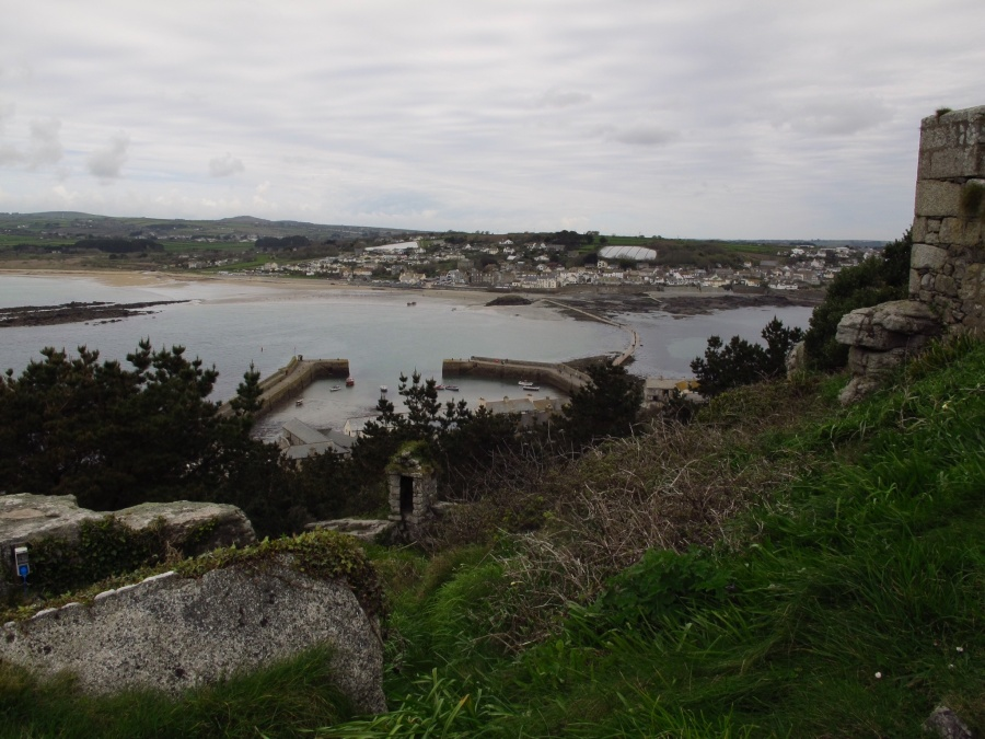 Looking back to Marazion from St. Michaels Mount