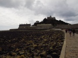 The causeway to St. Michaels Mount, Cornwall