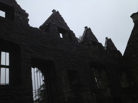 Walls of Donegal Castle